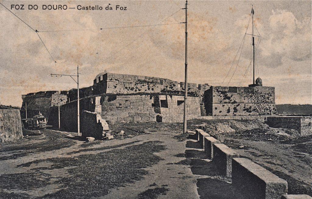 Castelo da Foz around 1907