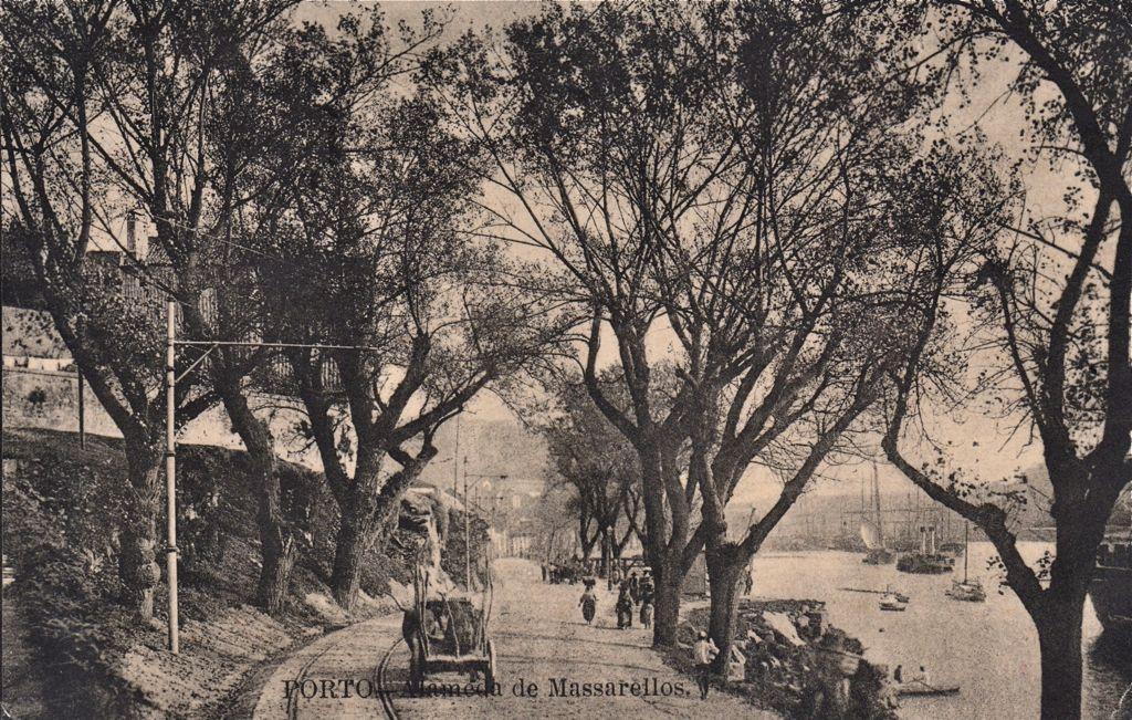 Along the riverside around 1910