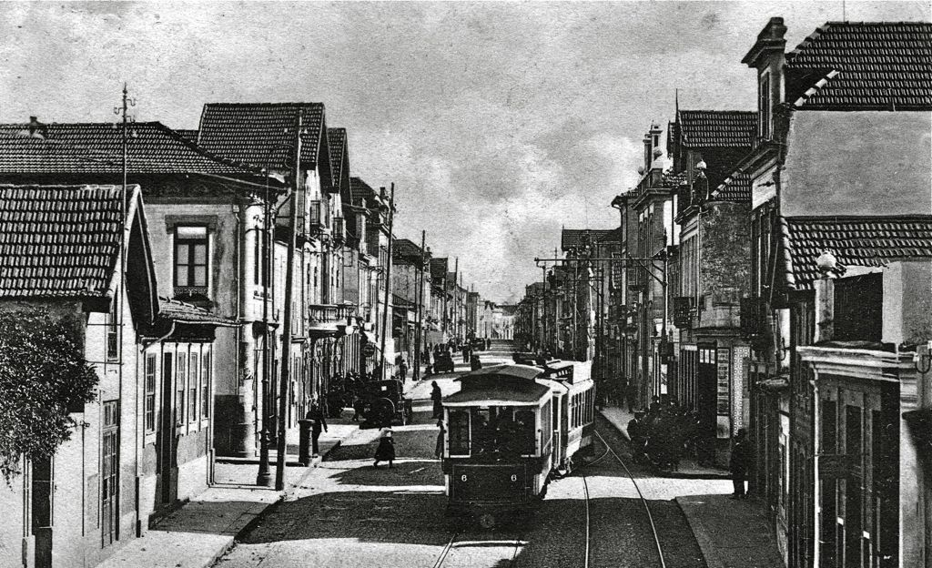 The same location about 1920
