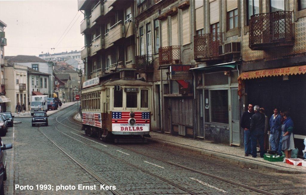 Foz - Rua da Senhora da Luz in 1993